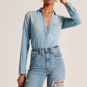 AMERICAN EAGLE Denim Top SP